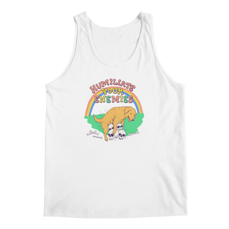 Humiliate Your Enemies Men's Regular Tank by Hillary White