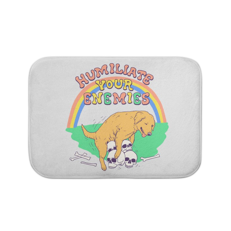 Humiliate Your Enemies Home Bath Mat by Hillary White