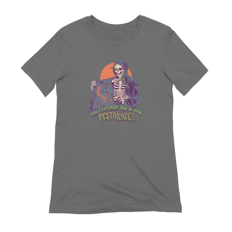 Pestilence Women's Extra Soft T-Shirt by Hillary White