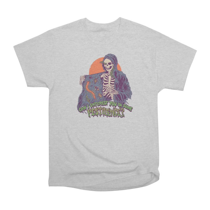 Pestilence Men's Heavyweight T-Shirt by Hillary White