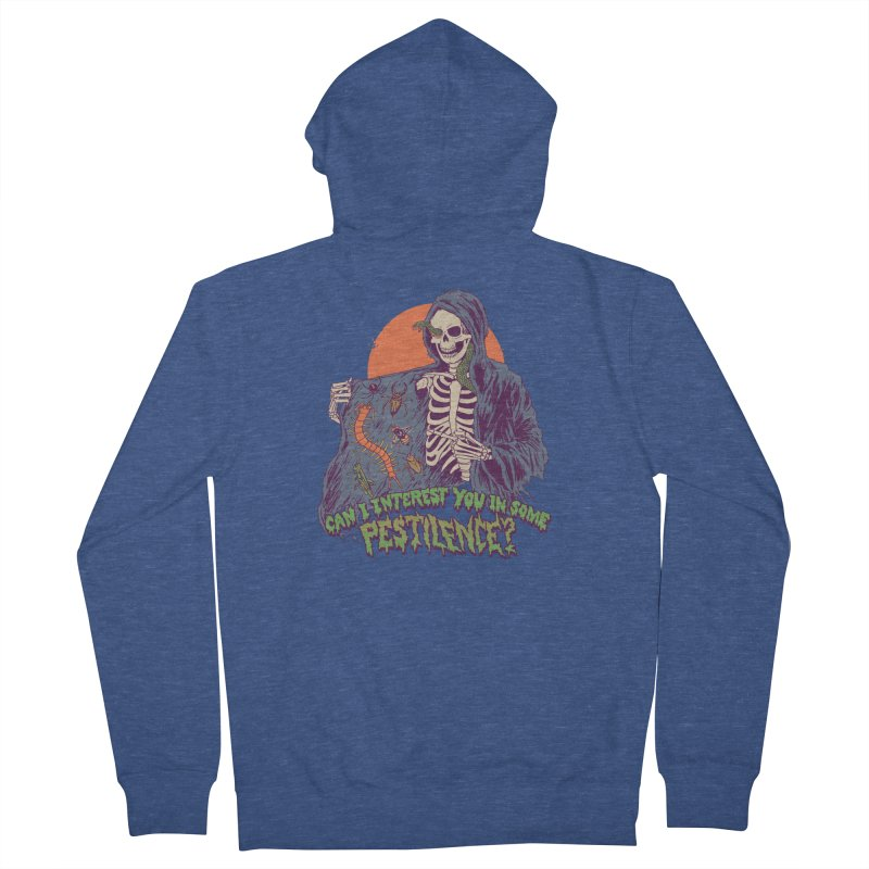 Pestilence Women's French Terry Zip-Up Hoody by Hillary White