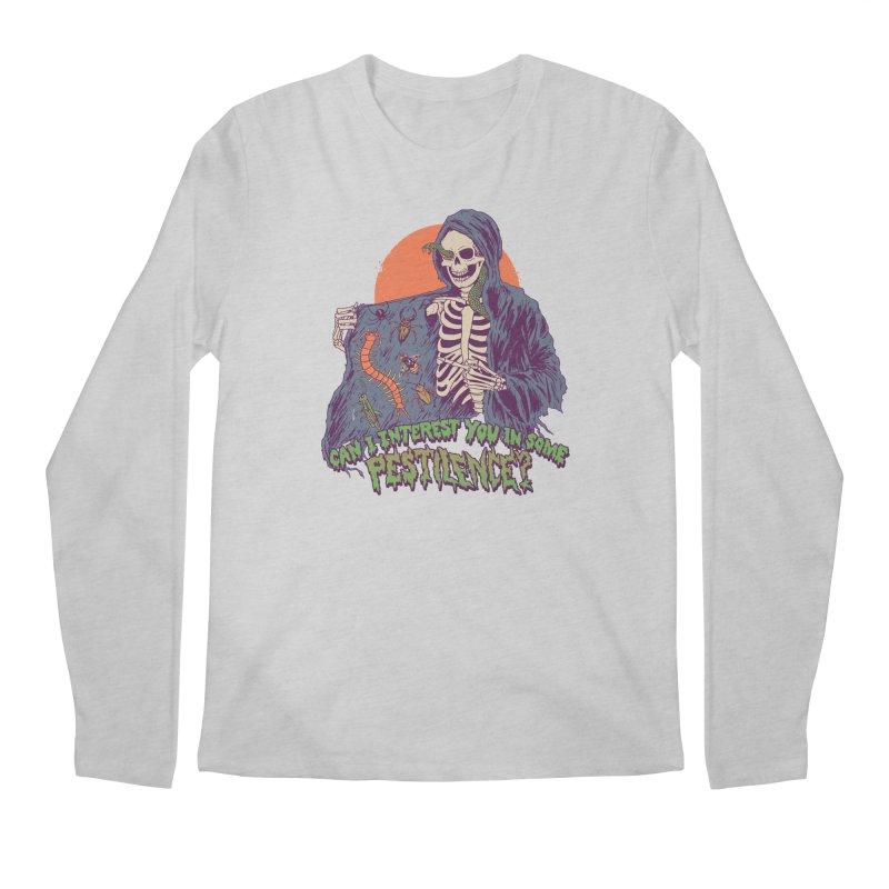 Pestilence Men's Regular Longsleeve T-Shirt by Hillary White