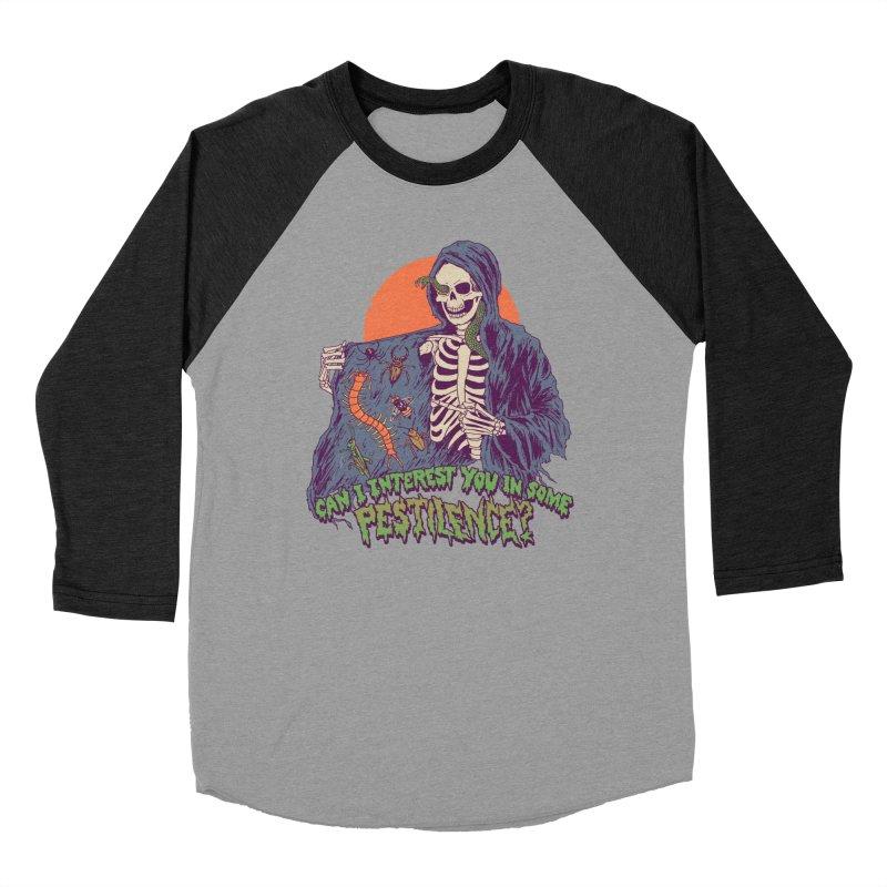 Pestilence Women's Baseball Triblend Longsleeve T-Shirt by Hillary White