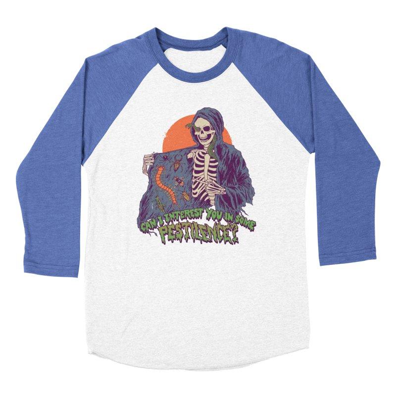Pestilence Men's Baseball Triblend Longsleeve T-Shirt by Hillary White