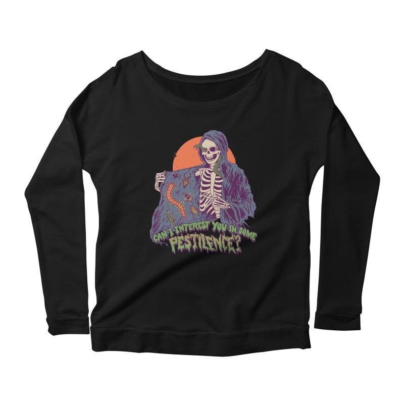 Pestilence Women's Scoop Neck Longsleeve T-Shirt by Hillary White