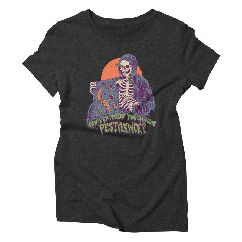Pestilence Women's Triblend T-Shirt by Hillary White