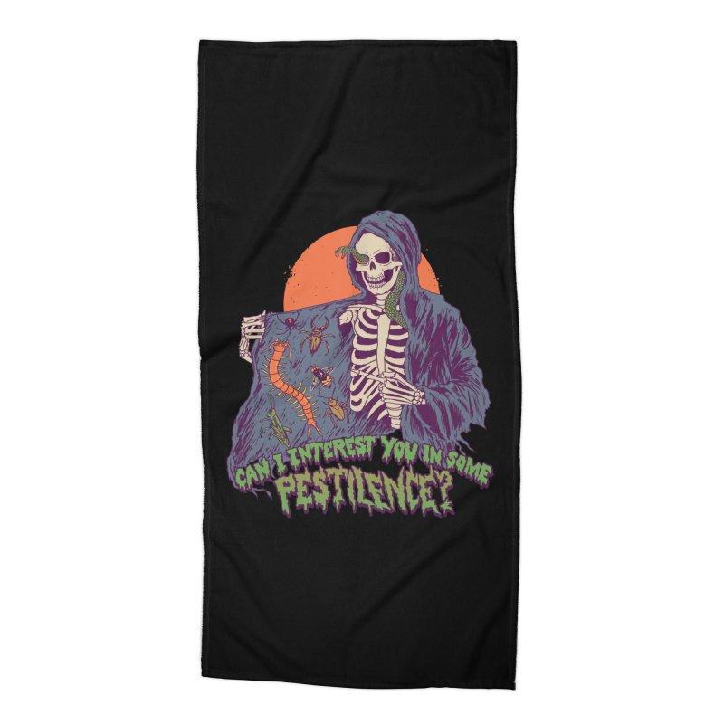 Pestilence Accessories Beach Towel by Hillary White