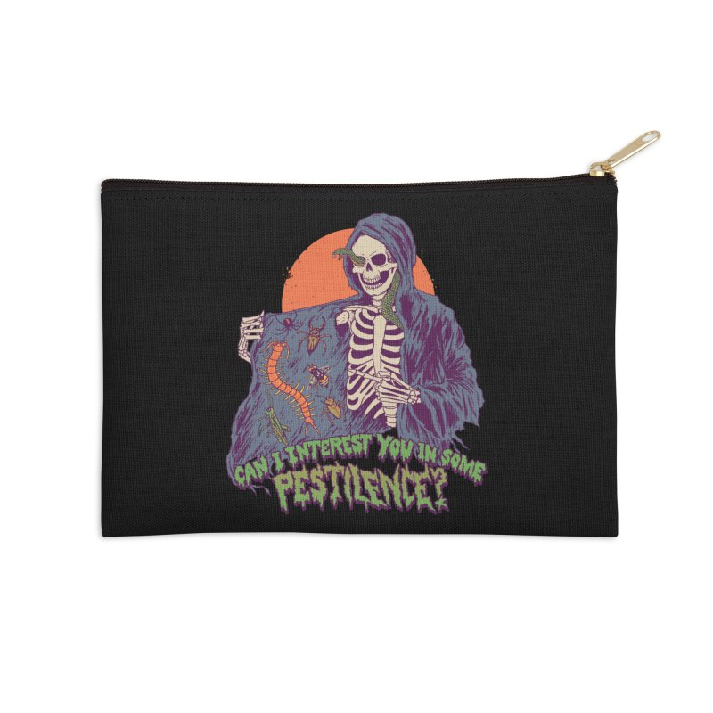 Pestilence Accessories Zip Pouch by Hillary White