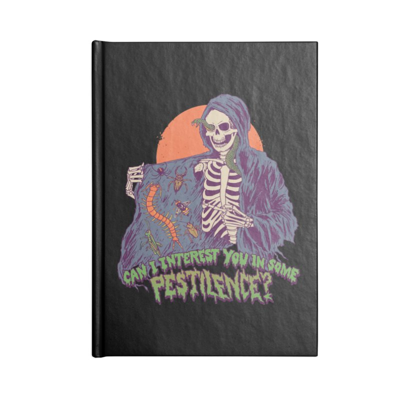 Pestilence Accessories Blank Journal Notebook by Hillary White