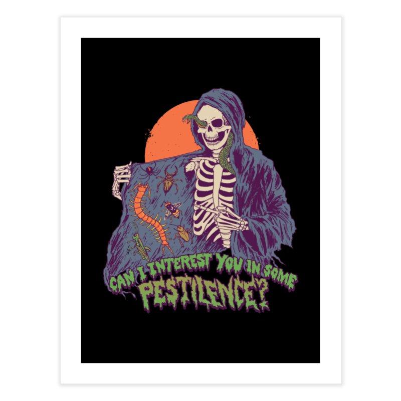 Pestilence Home Fine Art Print by Hillary White