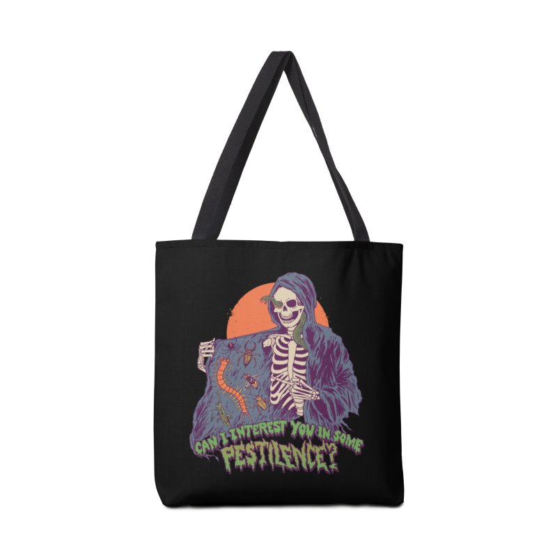 Pestilence Accessories Tote Bag Bag by Hillary White