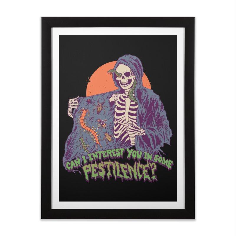 Pestilence Home Framed Fine Art Print by Hillary White