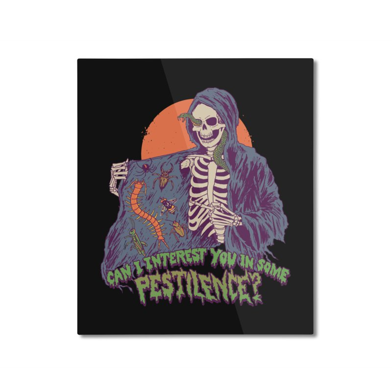 Pestilence Home Mounted Aluminum Print by Hillary White