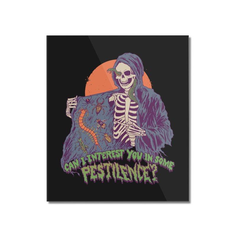 Pestilence Home Mounted Acrylic Print by Hillary White
