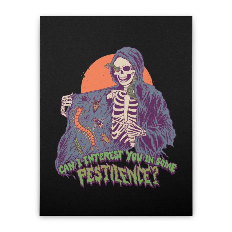 Pestilence Home Stretched Canvas by Hillary White
