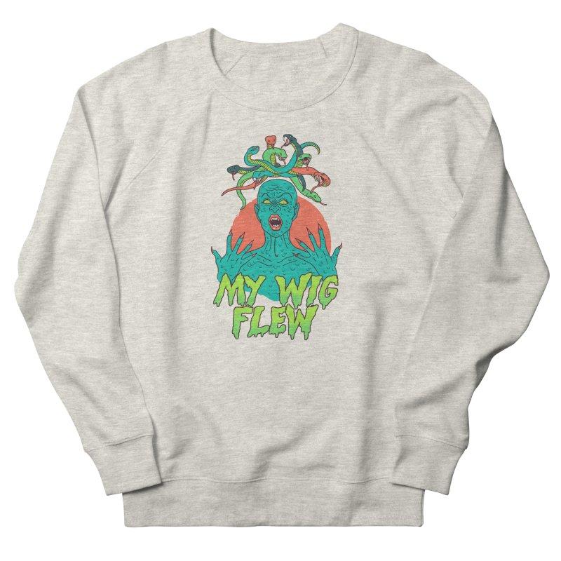 My Wig Flew Women's French Terry Sweatshirt by Hillary White