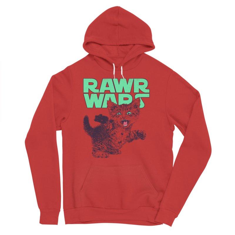 Rawr Wars Men's Sponge Fleece Pullover Hoody by Hillary White