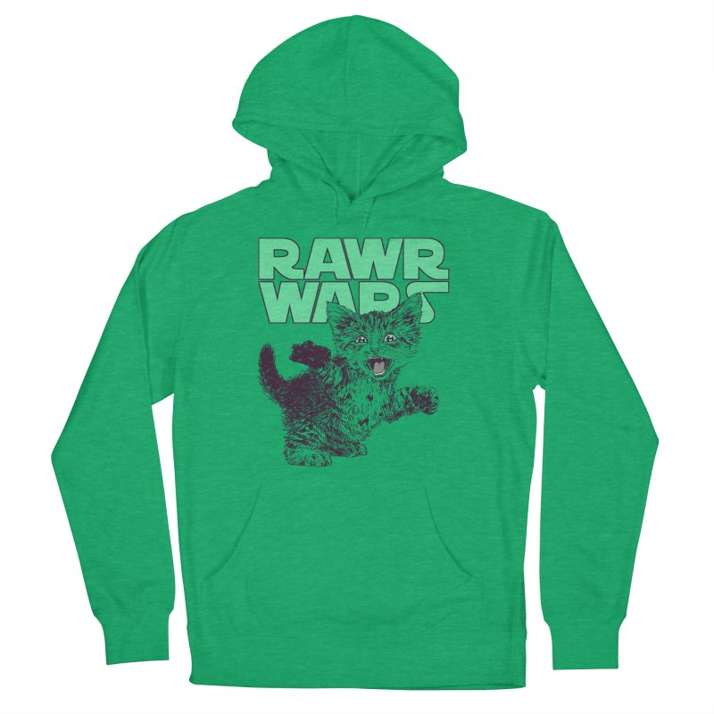 Rawr Wars Men's French Terry Pullover Hoody by Hillary White