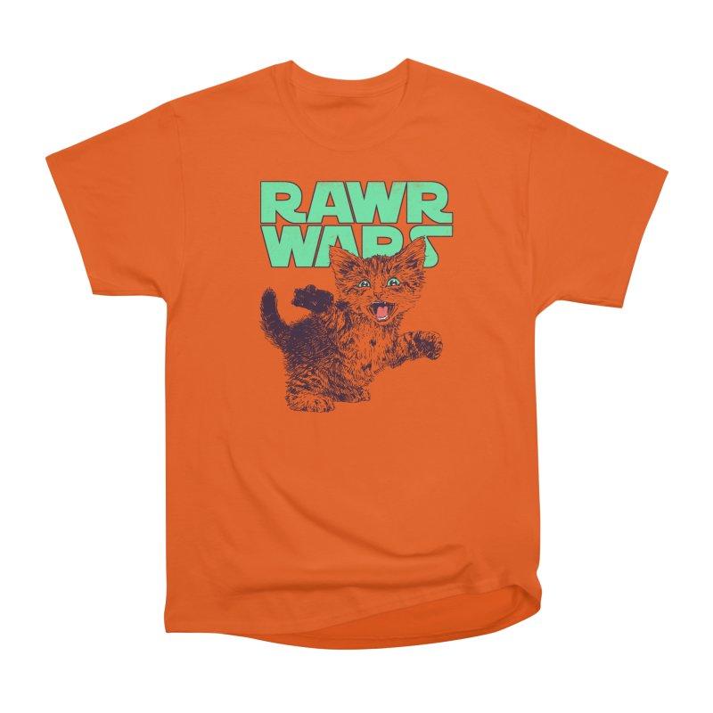 Rawr Wars Men's Heavyweight T-Shirt by Hillary White
