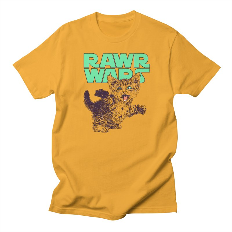 Rawr Wars Men's Regular T-Shirt by Hillary White