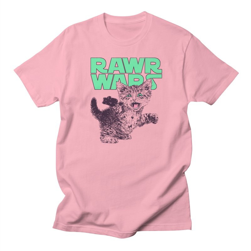 Rawr Wars Women's Regular Unisex T-Shirt by Hillary White