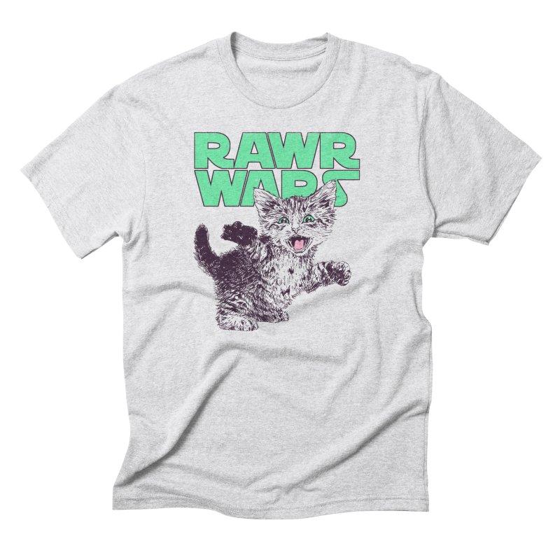 Rawr Wars Men's Triblend T-Shirt by Hillary White