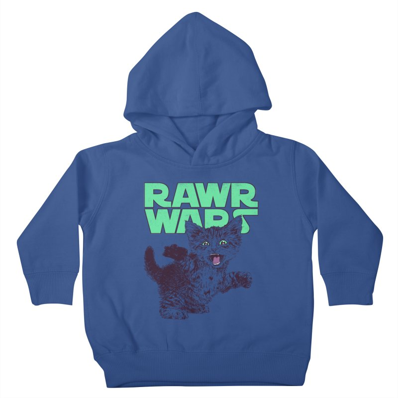 Rawr Wars Kids Toddler Pullover Hoody by Hillary White