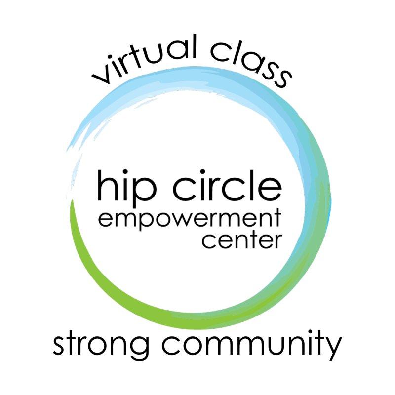 Light Virtual Class Strong Community Women's Scoop Neck by Hip Circle's Merchandise Shop