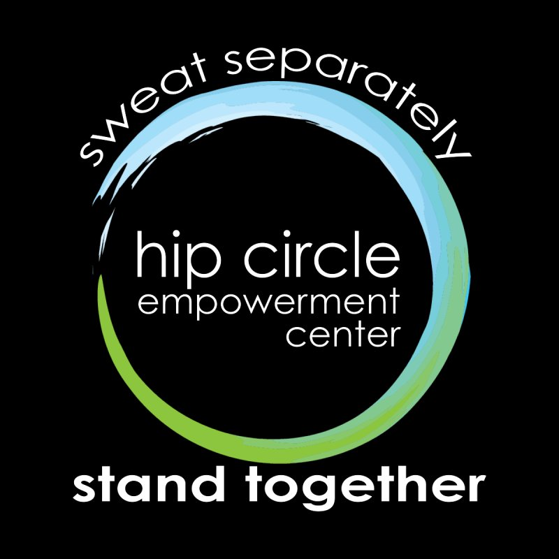 Hip Circle Empowerment Center Sweat Separately Stand Together Dark Fabric Men's T-Shirt by Hip Circle's Merchandise Shop