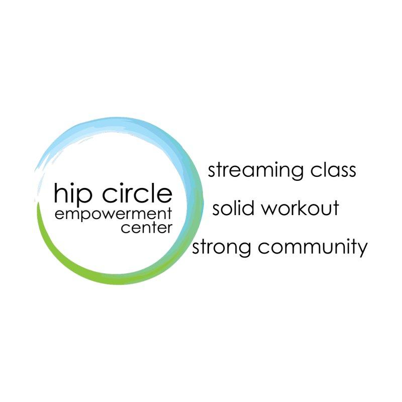 Hip Circle Empowerment Center 3 Points Logo Light Fabric Kids Longsleeve T-Shirt by Hip Circle's Merchandise Shop
