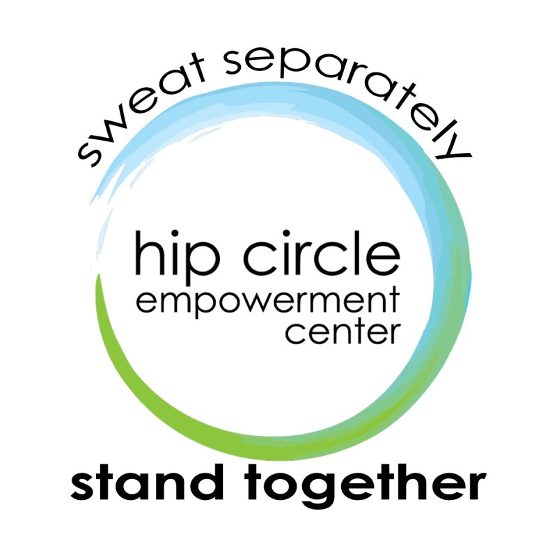 Hip Circle Empowerment Center Sweat Separately Stand Together Light Fabric Men's T-Shirt by Hip Circle's Merchandise Shop