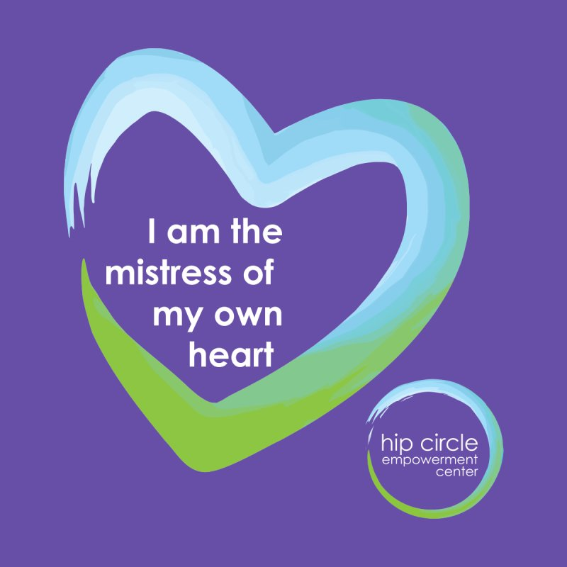 HCEC Mistress of My Own Heart for Dark Background Home Tapestry by Hip Circle's Merchandise Shop