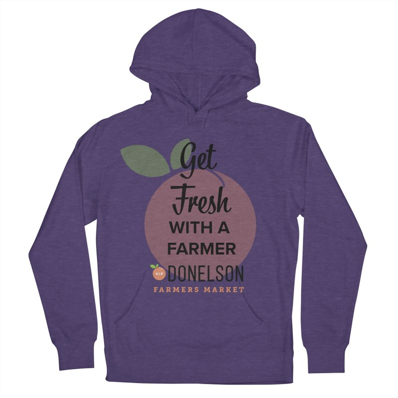 Get Fresh With A Farmer Men's French Terry Pullover Hoody by Hip Donelson Farmers Market