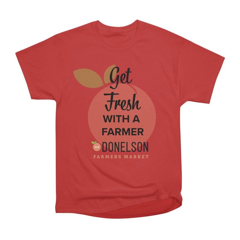 Get Fresh With A Farmer Men's Heavyweight T-Shirt by Hip Donelson Farmers Market