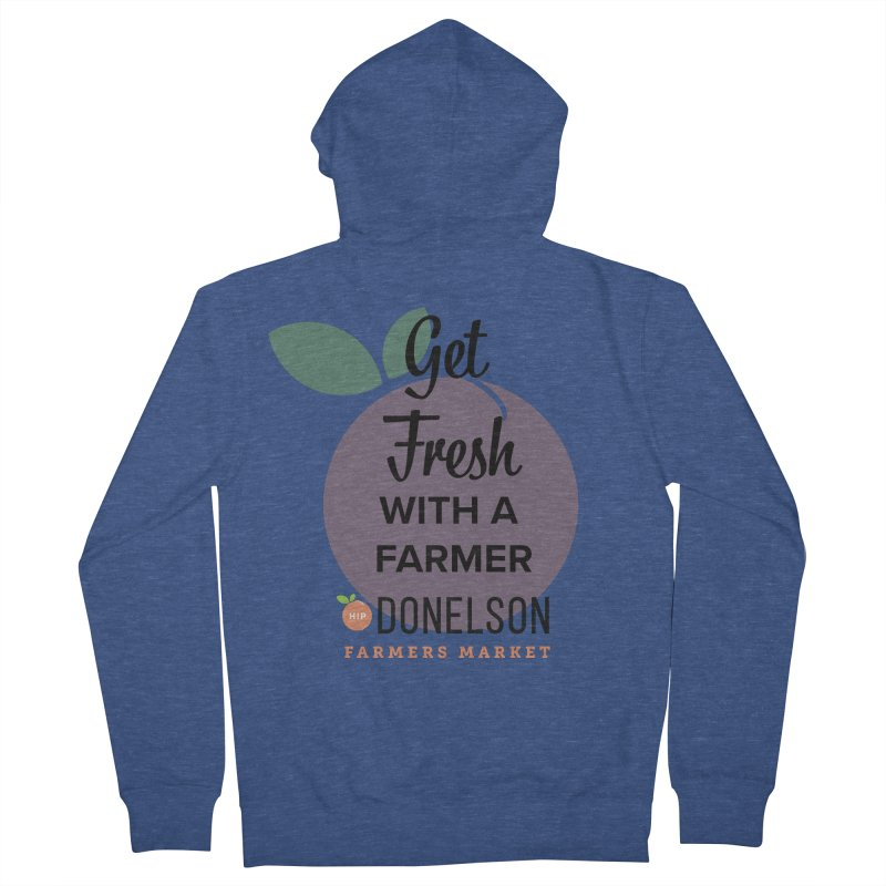 Get Fresh With A Farmer Women's French Terry Zip-Up Hoody by Hip Donelson Farmers Market