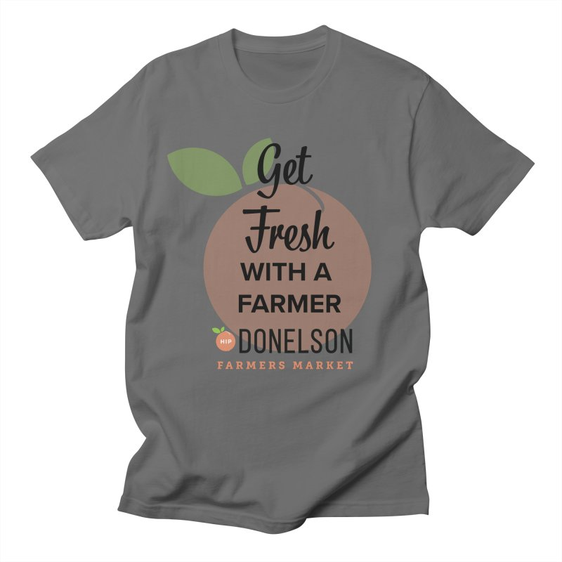 Get Fresh With A Farmer Men's T-Shirt by Hip Donelson Farmers Market