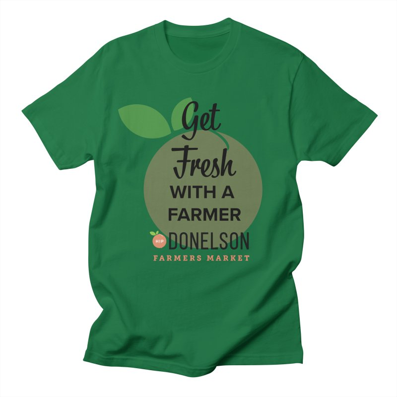 Get Fresh With A Farmer Men's Regular T-Shirt by Hip Donelson Farmers Market