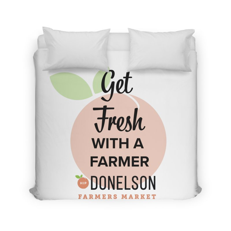Get Fresh With A Farmer Home Duvet by Hip Donelson Farmers Market