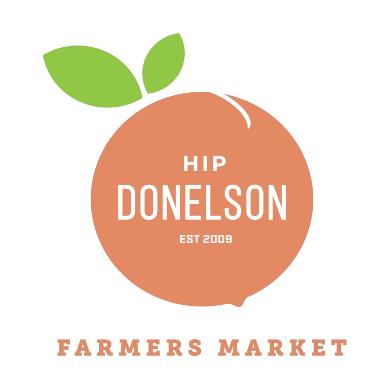 Farmers Market Logo Men's T-Shirt by Hip Donelson Farmers Market