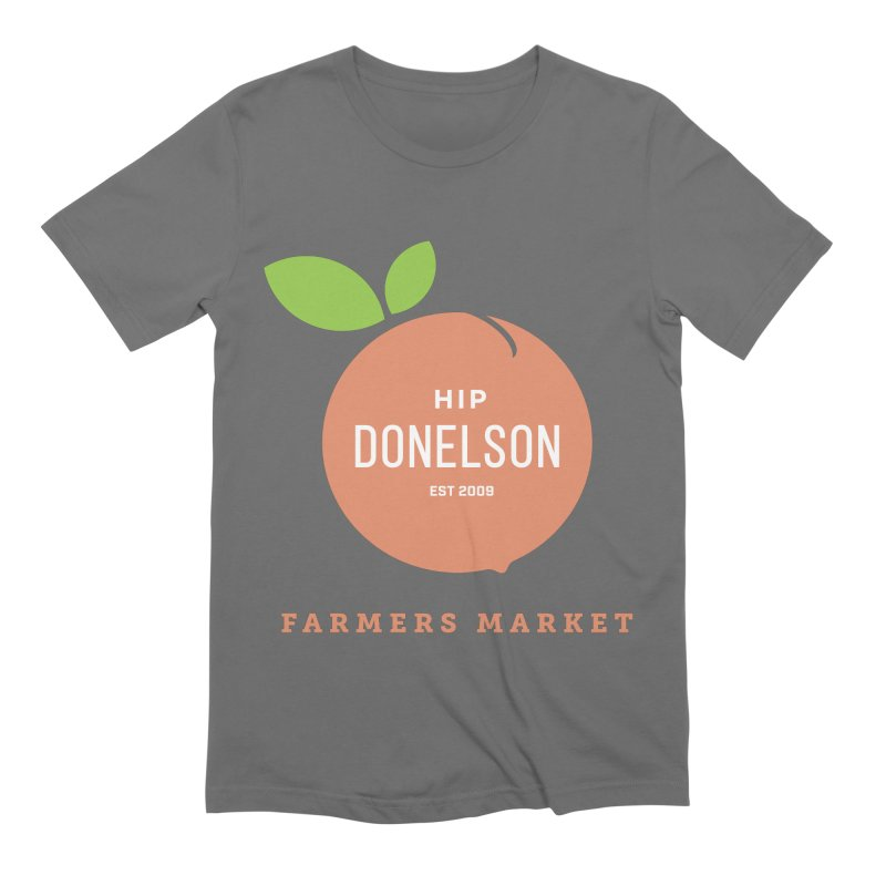 Farmers Market Logo Men's Extra Soft T-Shirt by Hip Donelson Farmers Market