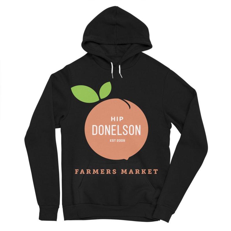 Farmers Market Logo Women's Sponge Fleece Pullover Hoody by Hip Donelson Farmers Market
