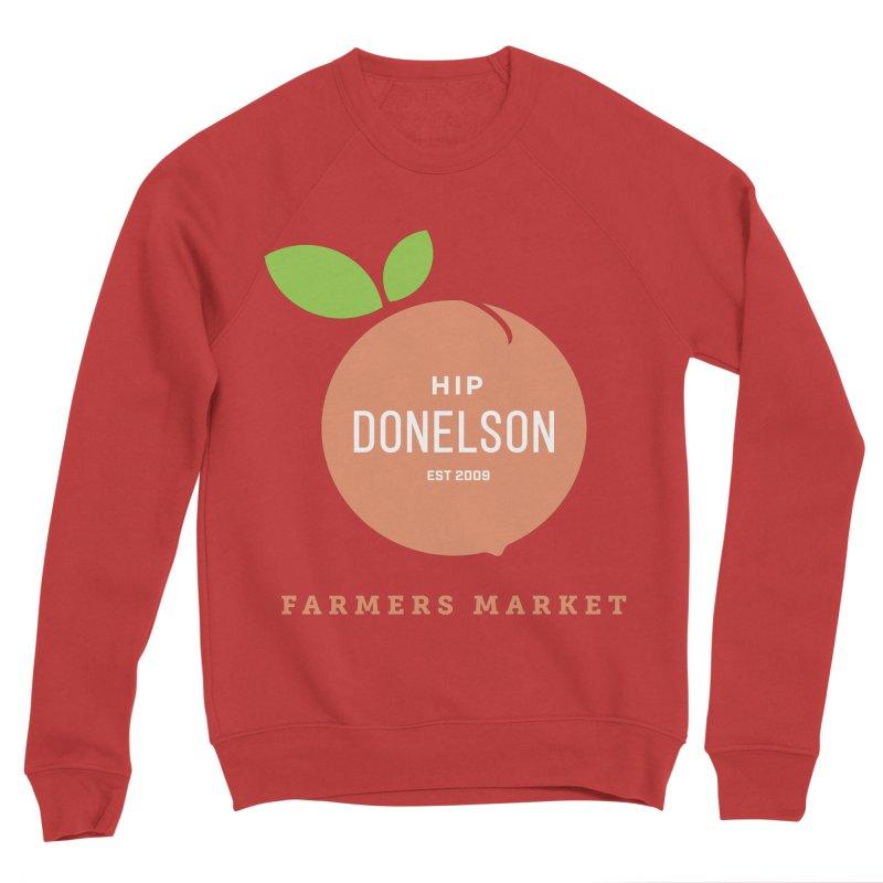 Farmers Market Logo Women's Sponge Fleece Sweatshirt by Hip Donelson Farmers Market