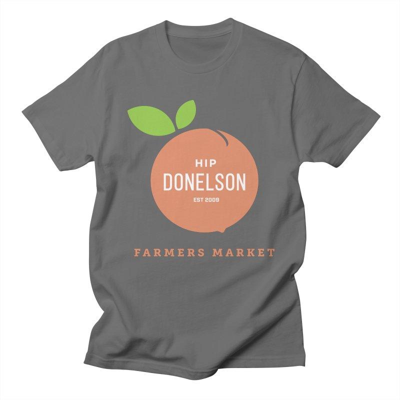 Farmers Market Logo Men's T-Shirt by Hip Donelson Farmers Market