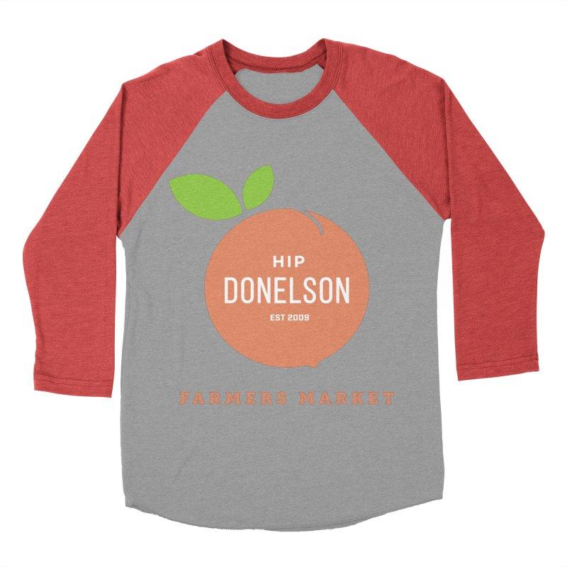 Farmers Market Logo Men's Longsleeve T-Shirt by Hip Donelson Farmers Market