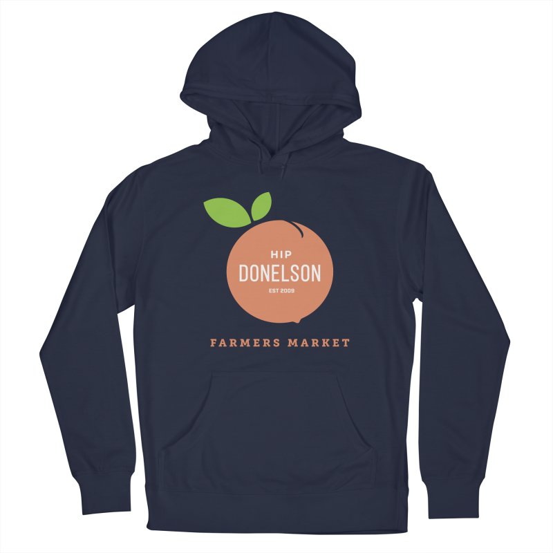 Farmers Market Logo Men's Pullover Hoody by Hip Donelson Farmers Market