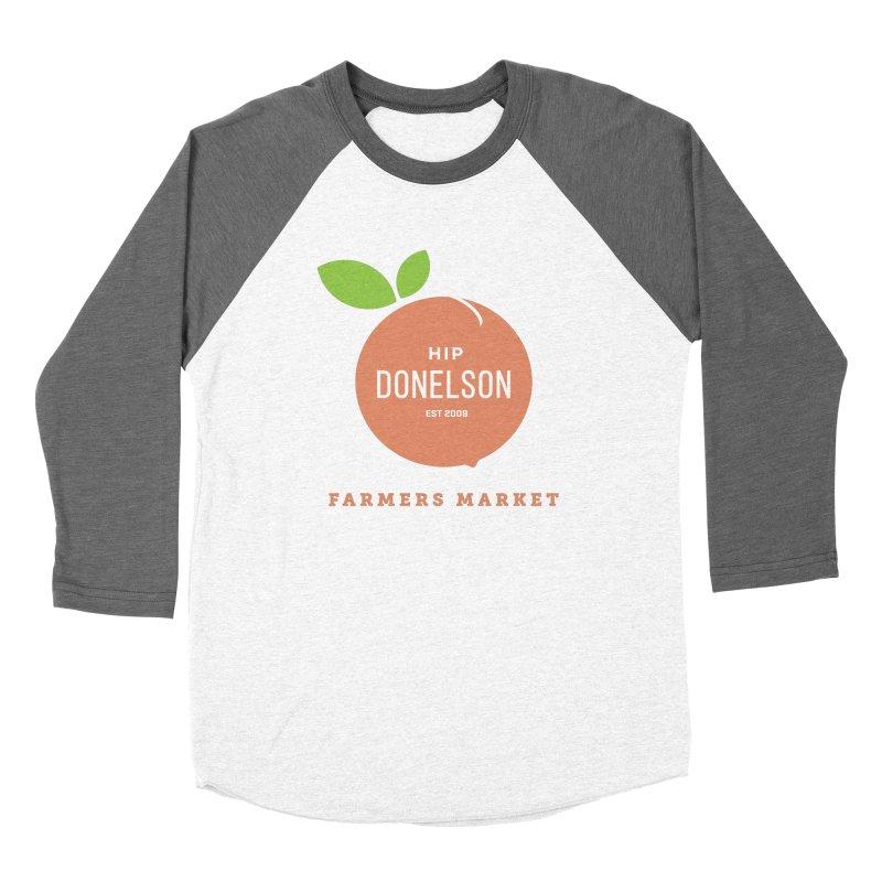 Farmers Market Logo Women's Longsleeve T-Shirt by Hip Donelson Farmers Market