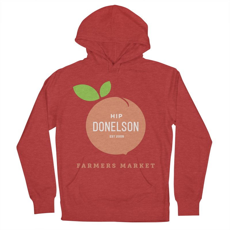 Farmers Market Logo Women's French Terry Pullover Hoody by Hip Donelson Farmers Market