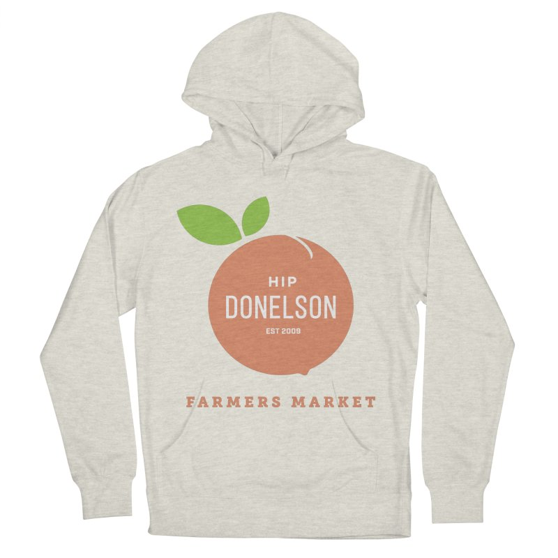 Farmers Market Logo Men's French Terry Pullover Hoody by Hip Donelson Farmers Market