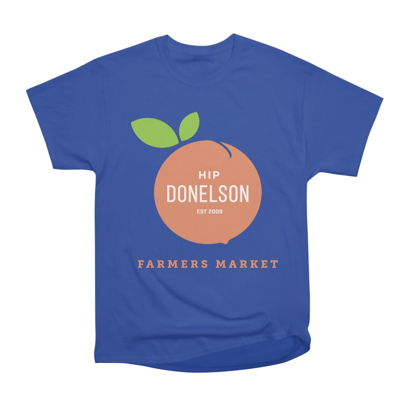 Farmers Market Logo Men's Heavyweight T-Shirt by Hip Donelson Farmers Market