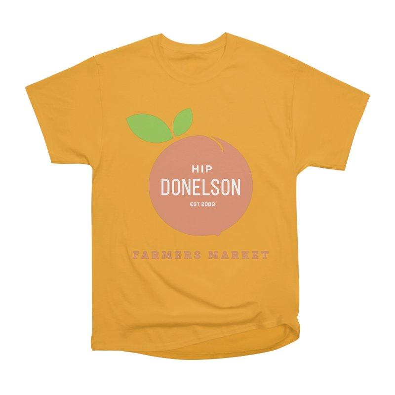 Farmers Market Logo Men's Heavyweight T-Shirt by Hip Donelson Farmers Market